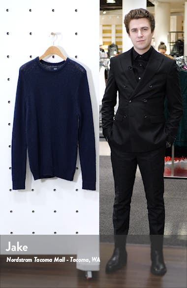 Reverse Stitch Crewneck Sweater, sales video thumbnail