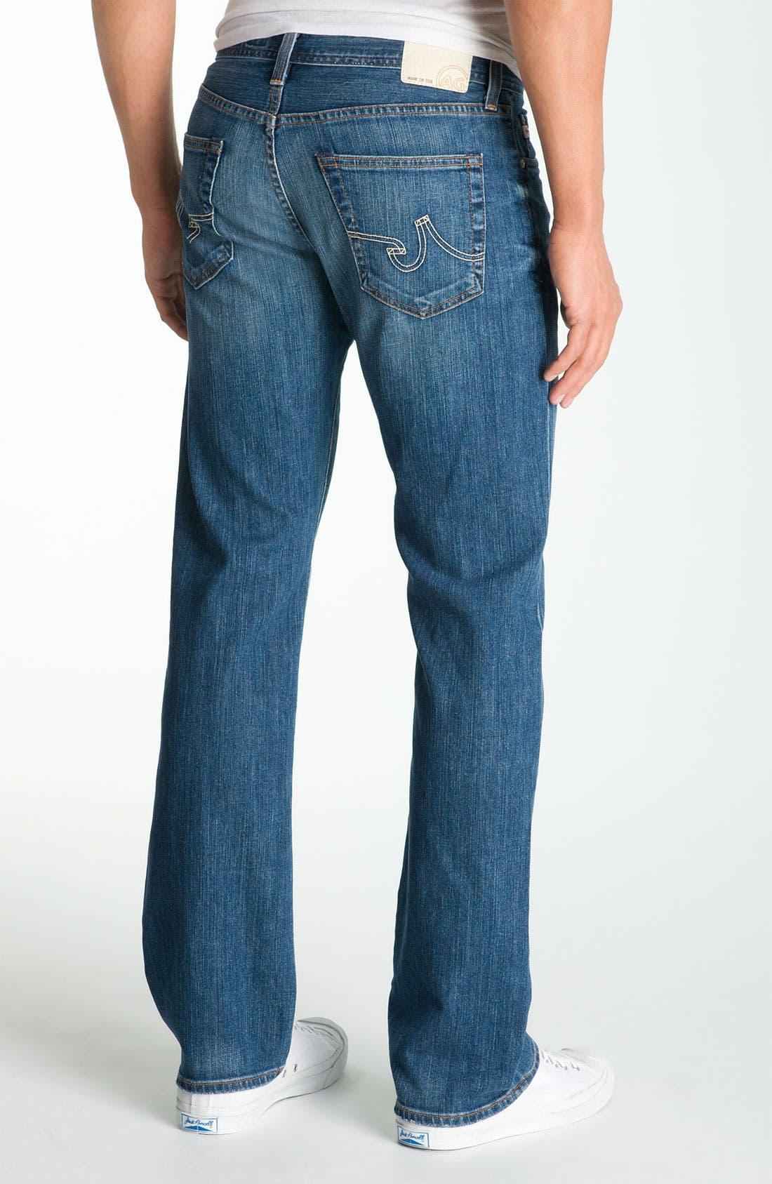 ,                             'Protégé' Straight Leg Jeans,                             Alternate thumbnail 30, color,                             423