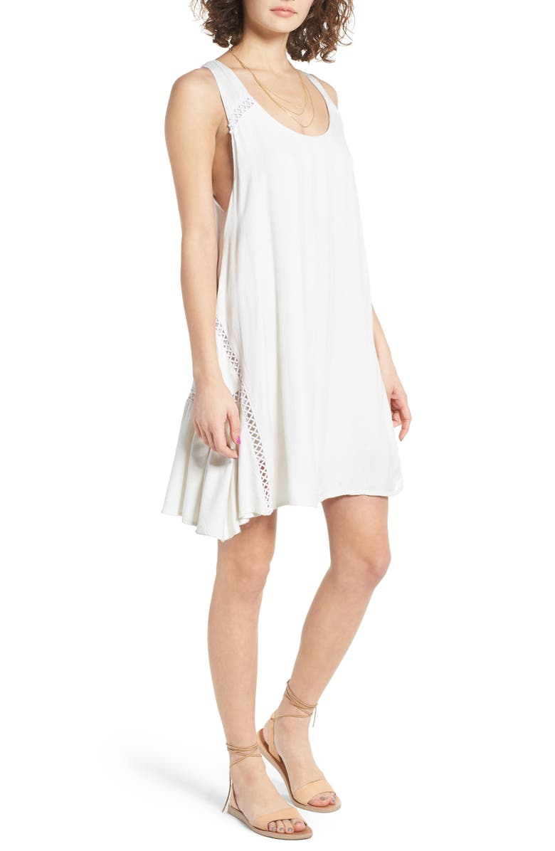 RIP CURL Las Dahlias Swing Dress, Main, color, 100