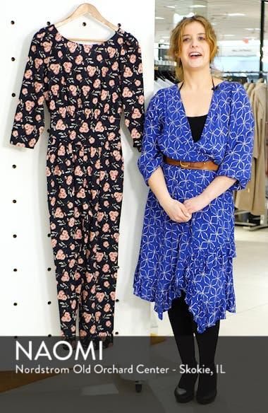 Adelle Floral Jumpsuit, sales video thumbnail