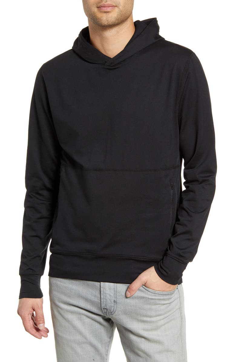 VUORI Ponto Performance Hoodie, Main, color, BLACK