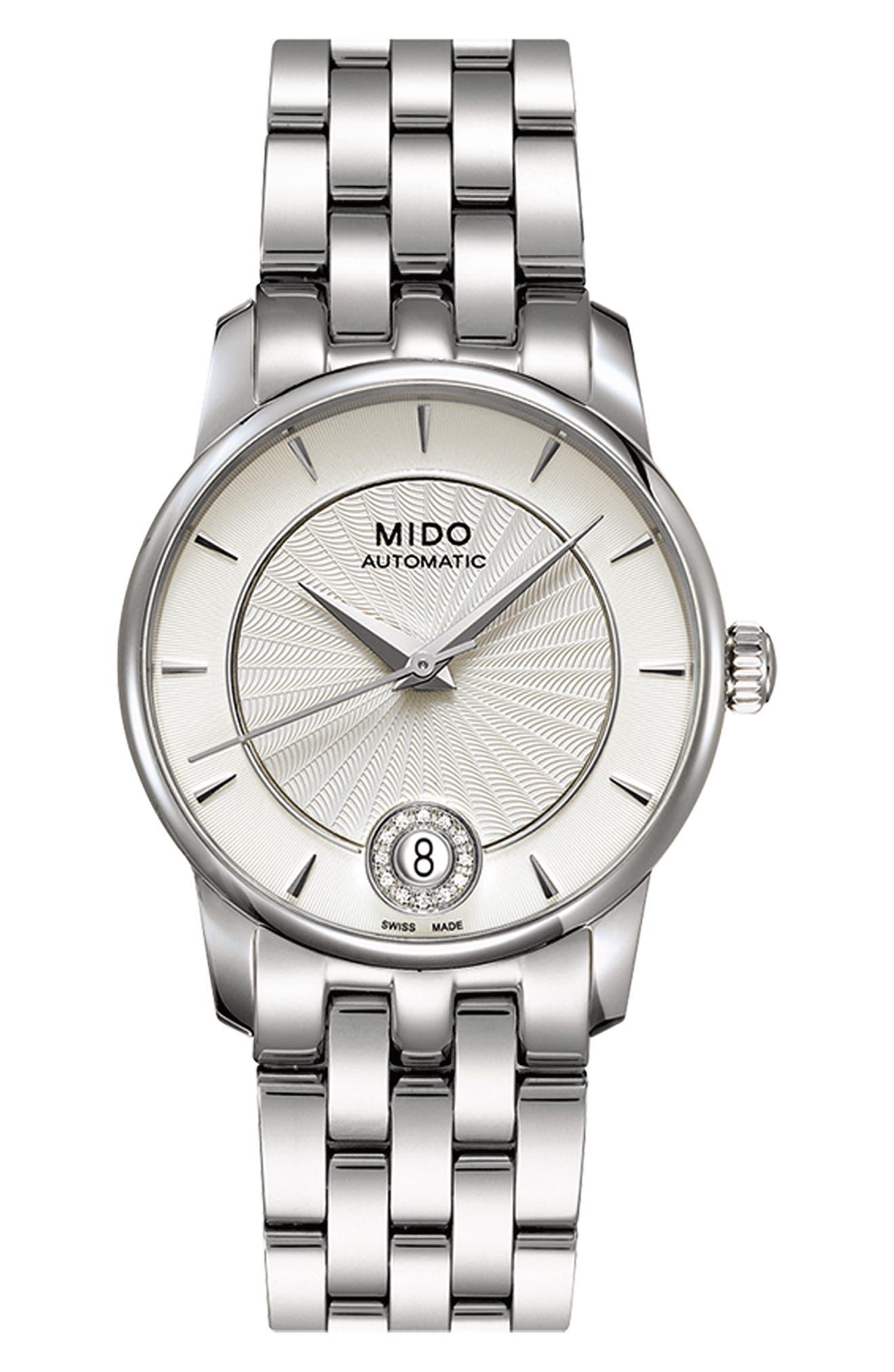 Baroncelli Diamond Automatic Bracelet Watch