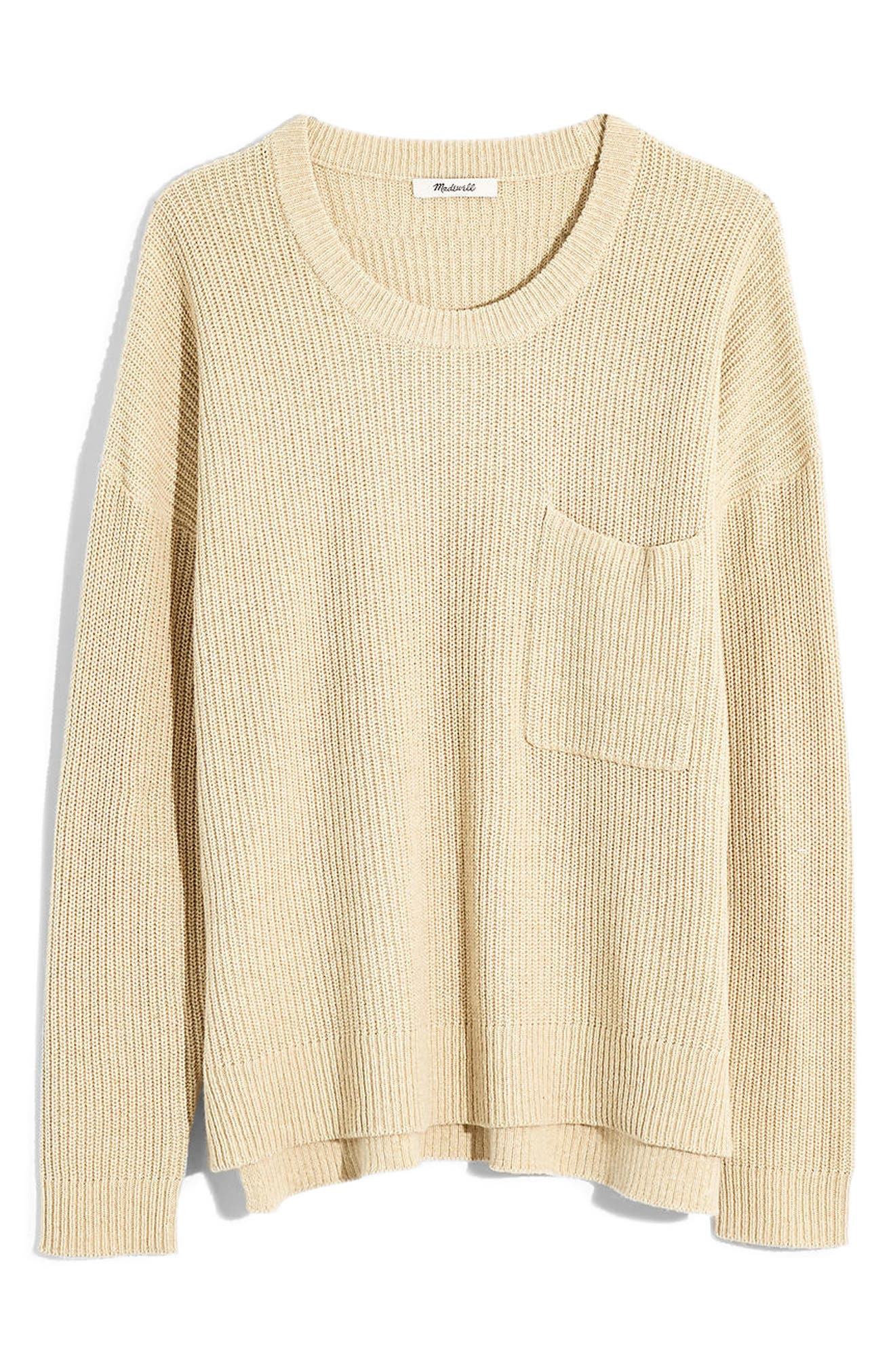 Madewell Thompson Pocket Pullover Sweater (Regular & Plus Size)