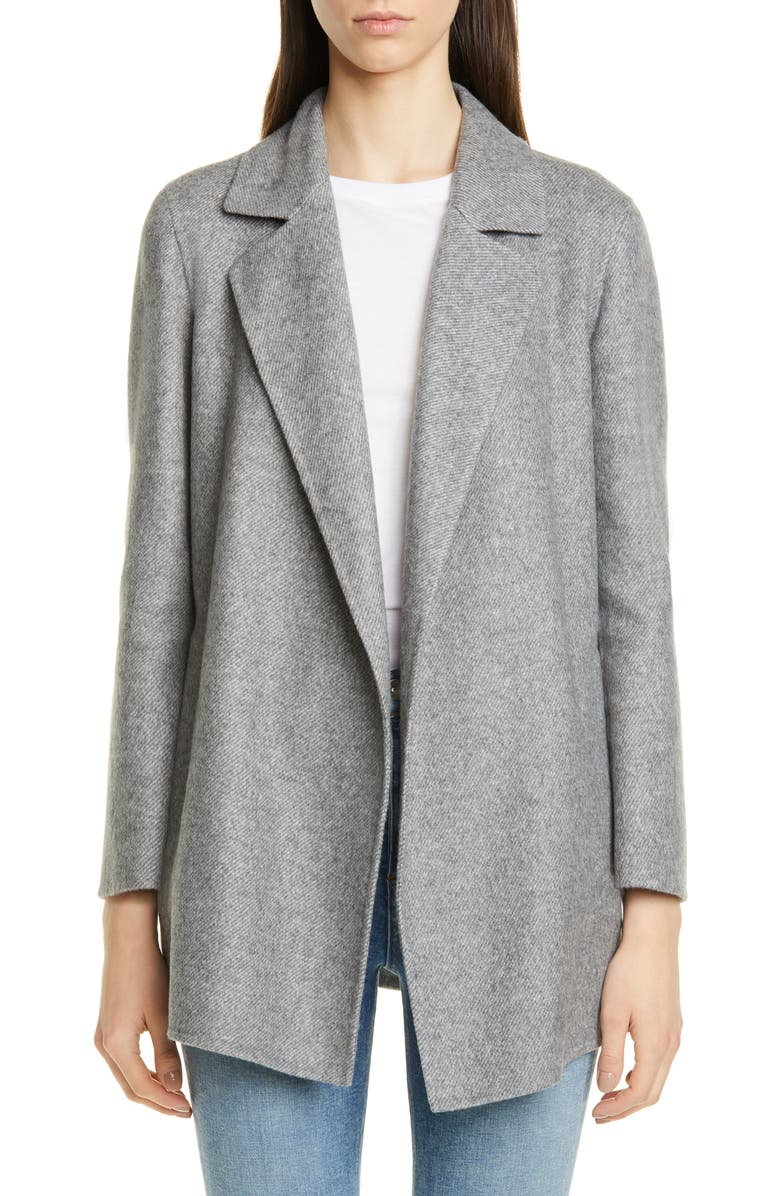 THEORY Clairene Wool Blend Jacket, Main, color, 029