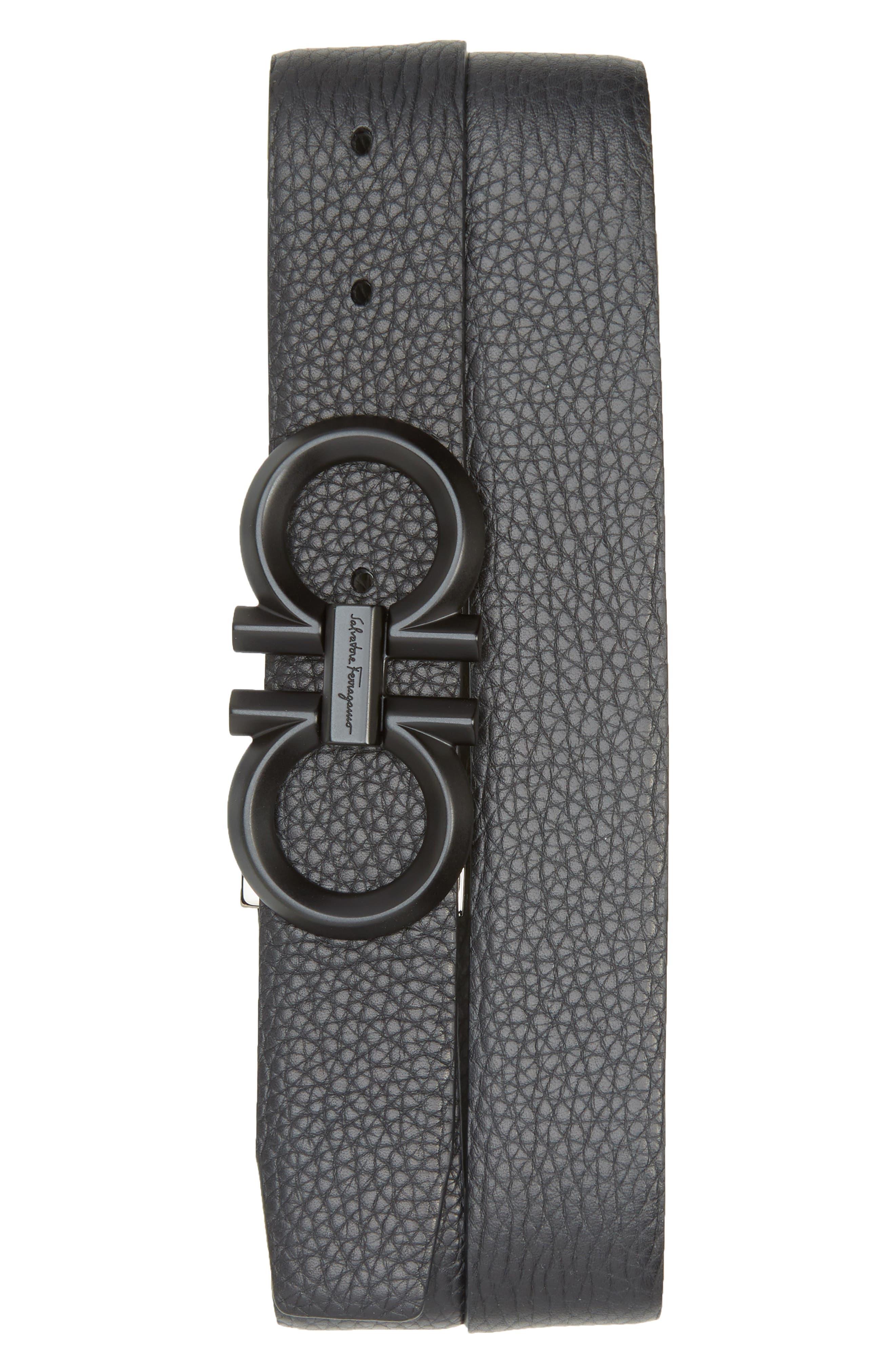 Salvatore Ferragamo Belts Reversible Leather Belt