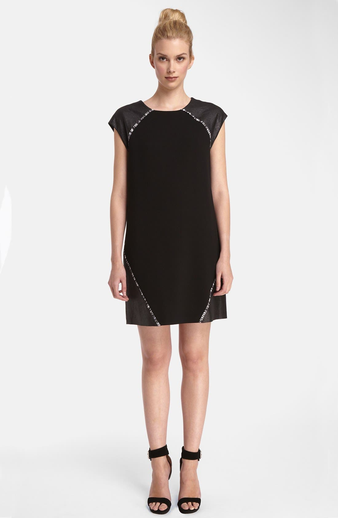 ,                             'Cameron' Shift Dress,                             Main thumbnail 1, color,                             001