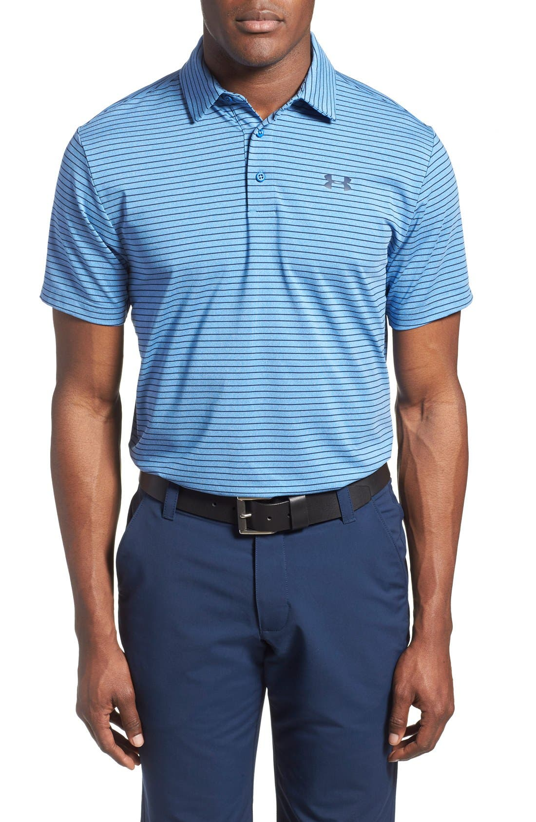 ,                             'Playoff' Loose Fit Short Sleeve Polo,                             Main thumbnail 275, color,                             444