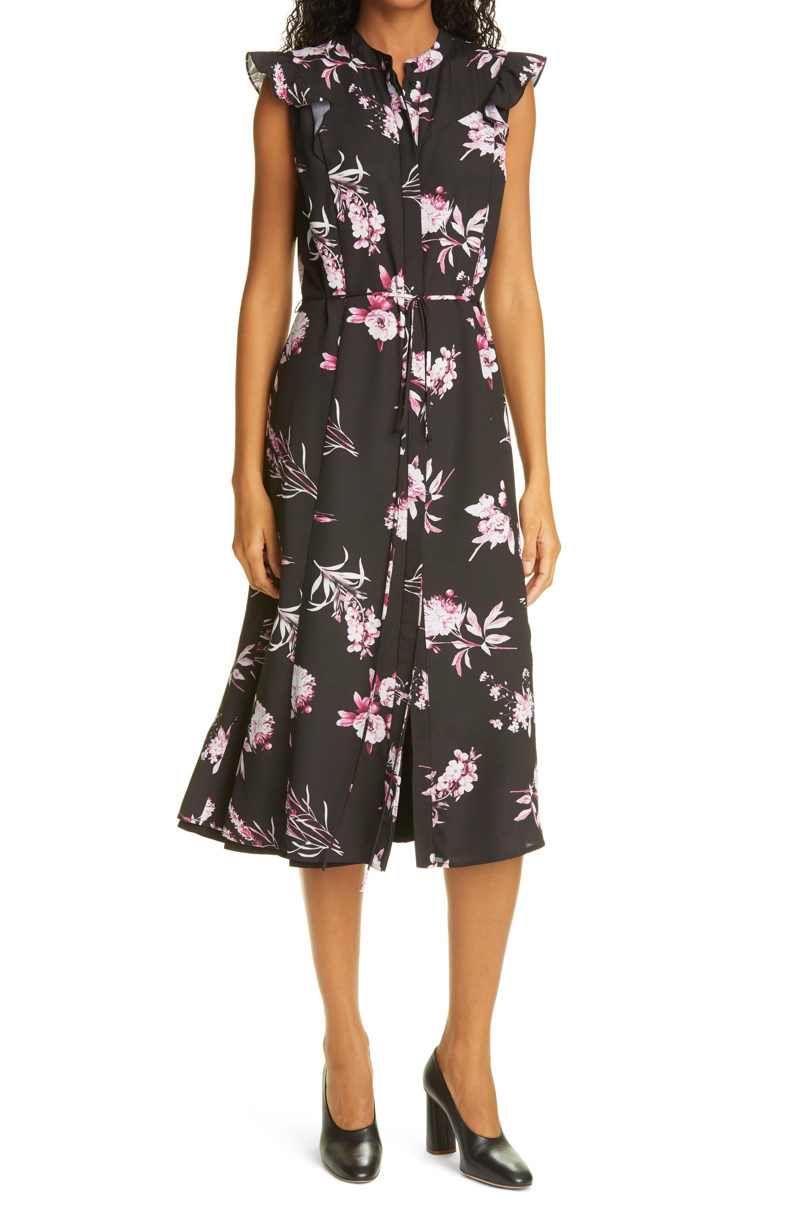 Operetta Floral Print Dress