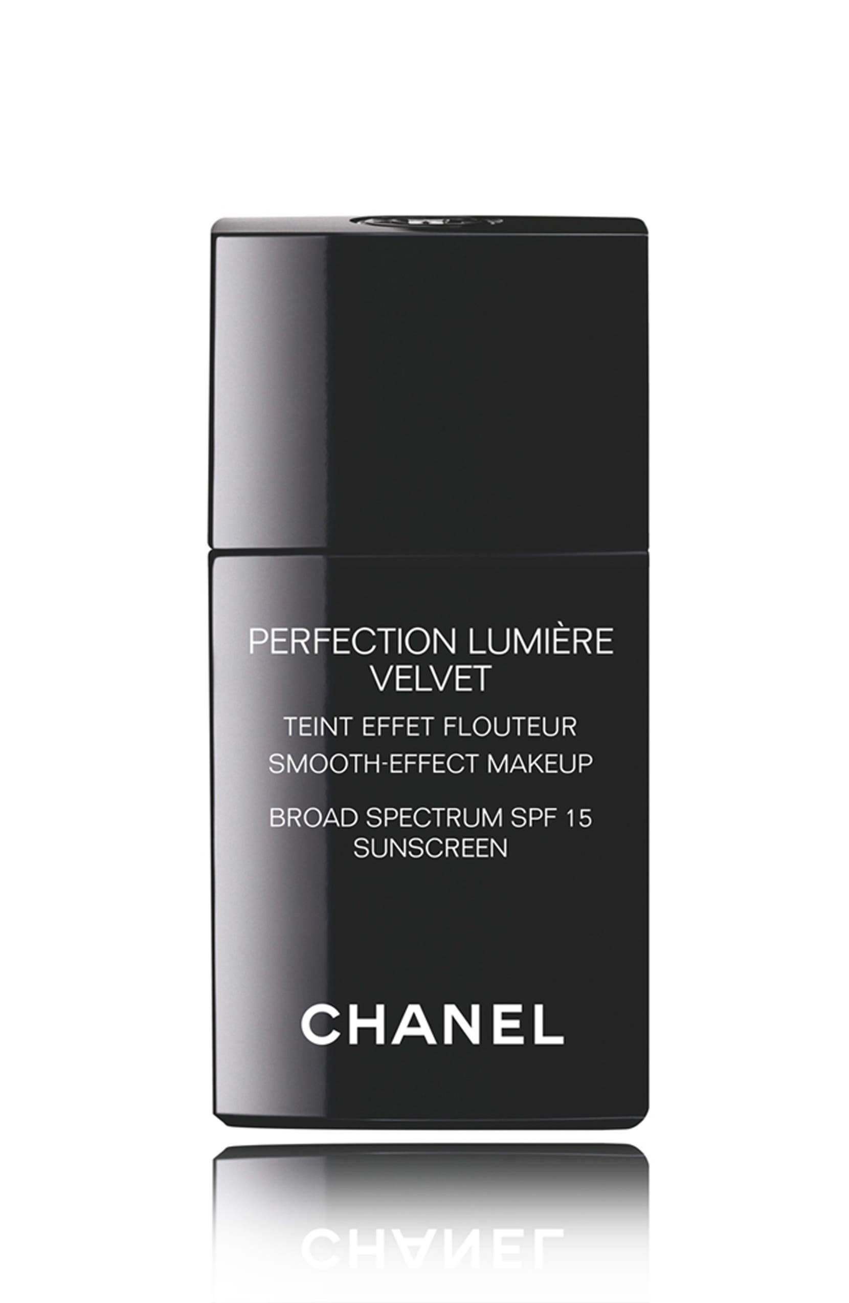 CHANEL PERFECTION LUMIÈRE VELVET Smooth-Effect Makeup Broad Spectrum SPF 15 Sunscreen | Nordstrom