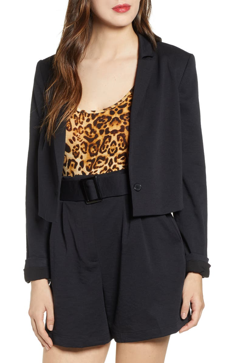 Cropped Blazer by Leith