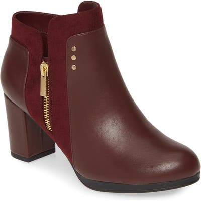 Bella Vita Loyal Ii Bootie, Burgundy