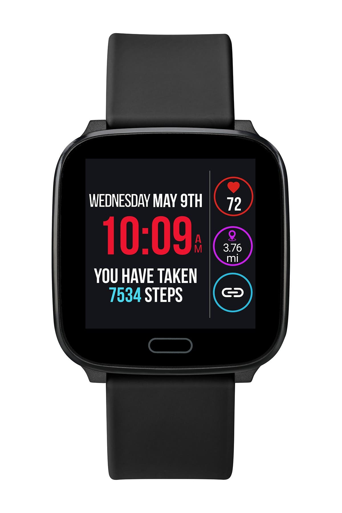 TIMEX Unisex iConnect by TIMEX Resin Smartwatch, 37mm at Nordstrom Rack