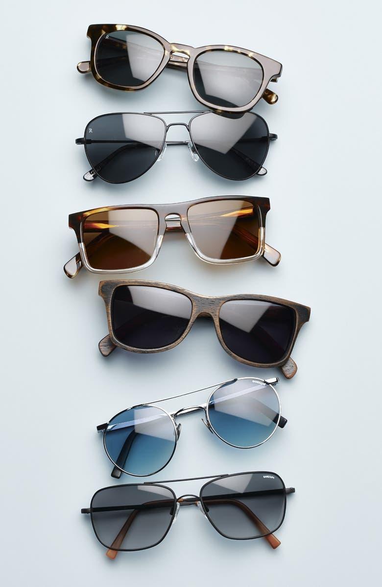 SHWOOD 'Govy 2' 52mm Polarized Sunglasses, Main, color, 009