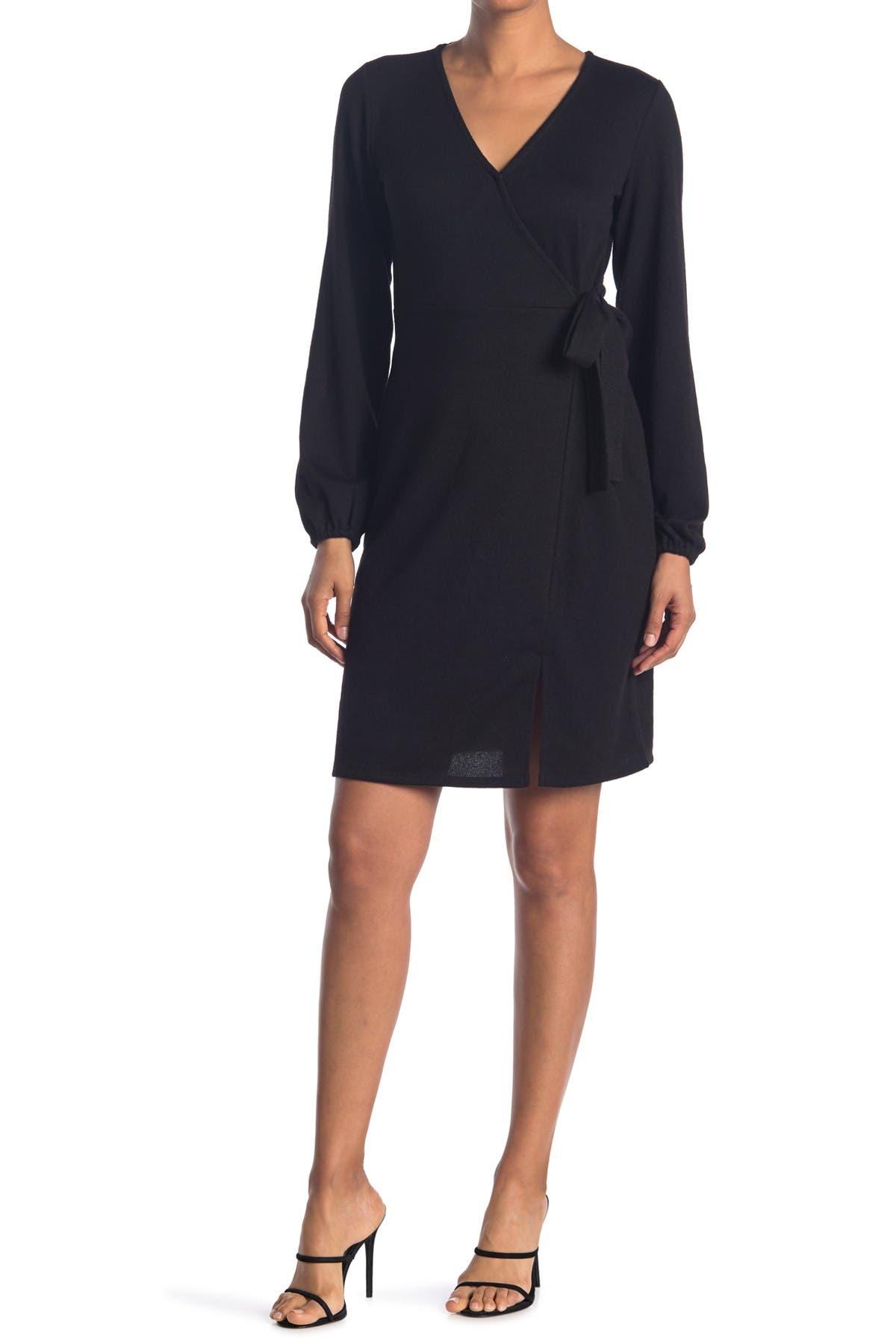 Image of Sanctuary Long Sleeve Wrap Dress