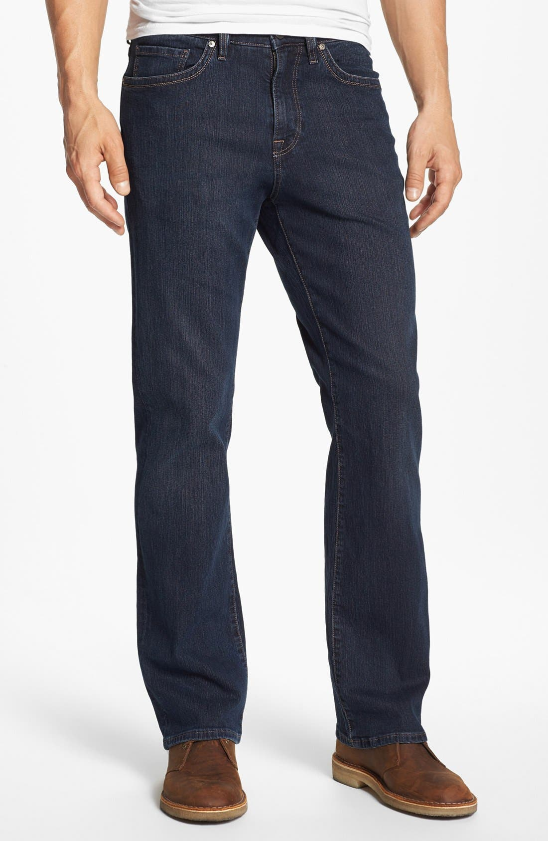 Charisma Relaxed Fit Jeans, Main, color, DARK COMFORT