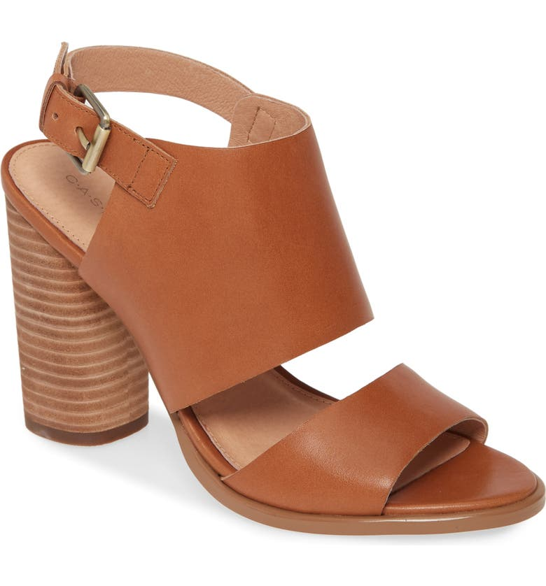 CASLON<SUP>®</SUP> Miriam Sandal, Main, color, COGNAC LEATHER