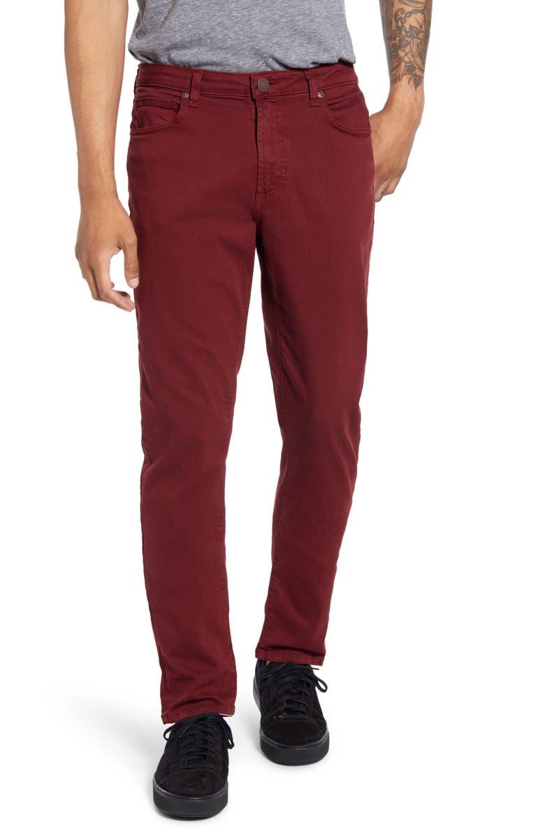 MONFRÈRE Deniro Slim Straight Leg Jeans, Main, color, 400