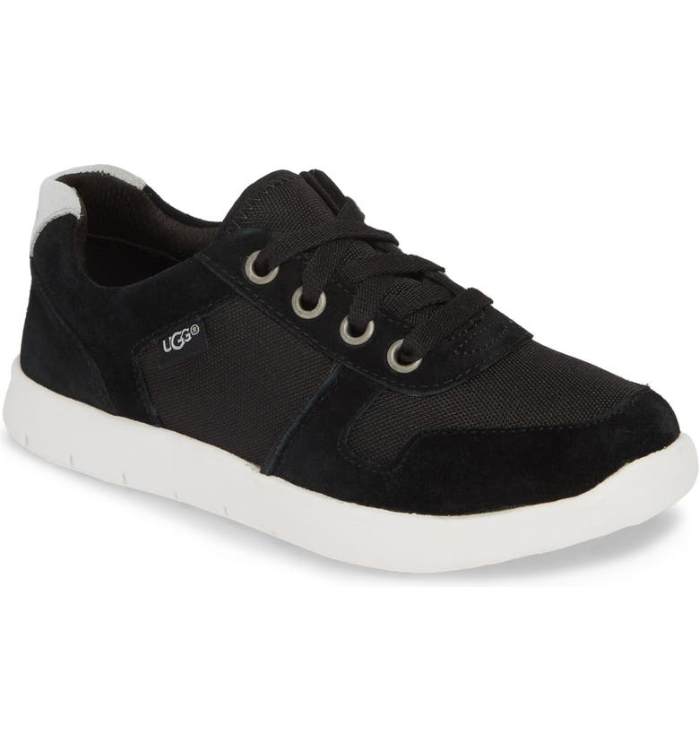 UGG<SUP>®</SUP> Tygo Sneaker, Main, color, BLACK