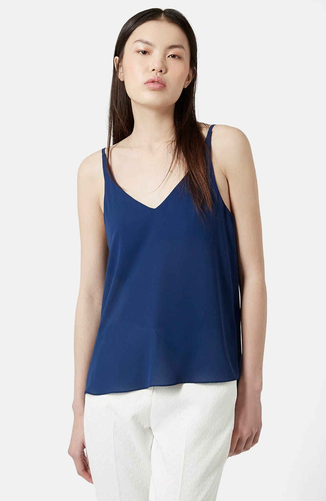 ,                             Strappy V-Neck Camisole,                             Main thumbnail 19, color,                             410