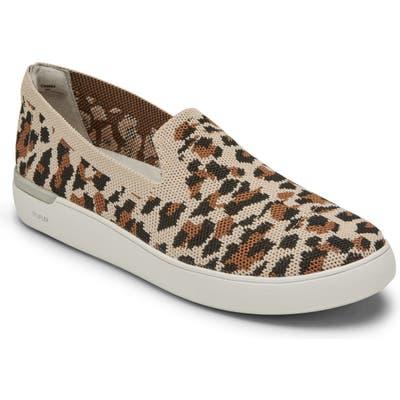 Rockport Truflex Parissa Slip-On Sneaker- Beige