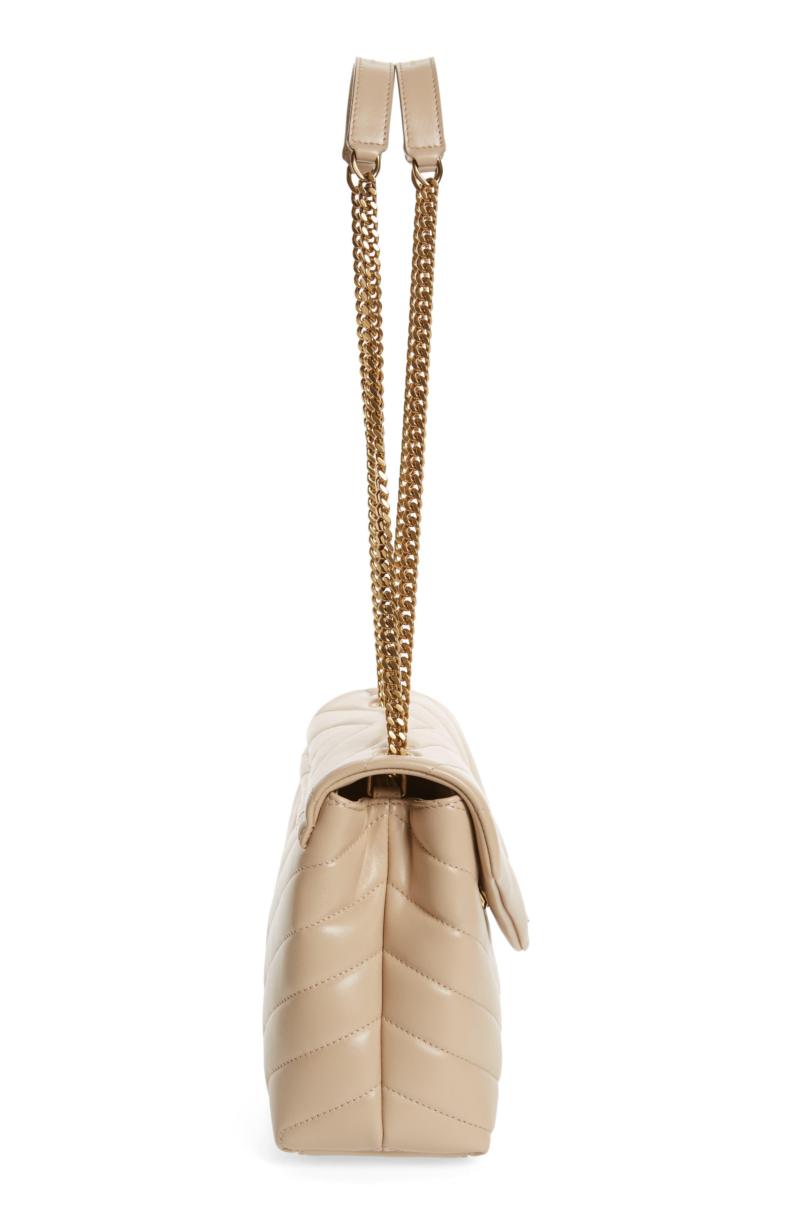 ,                             Small Loulou Leather Shoulder Bag,                             Alternate thumbnail 15, color,                             251