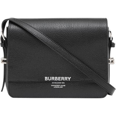 Burberry Small Grace Leather Bag - Black