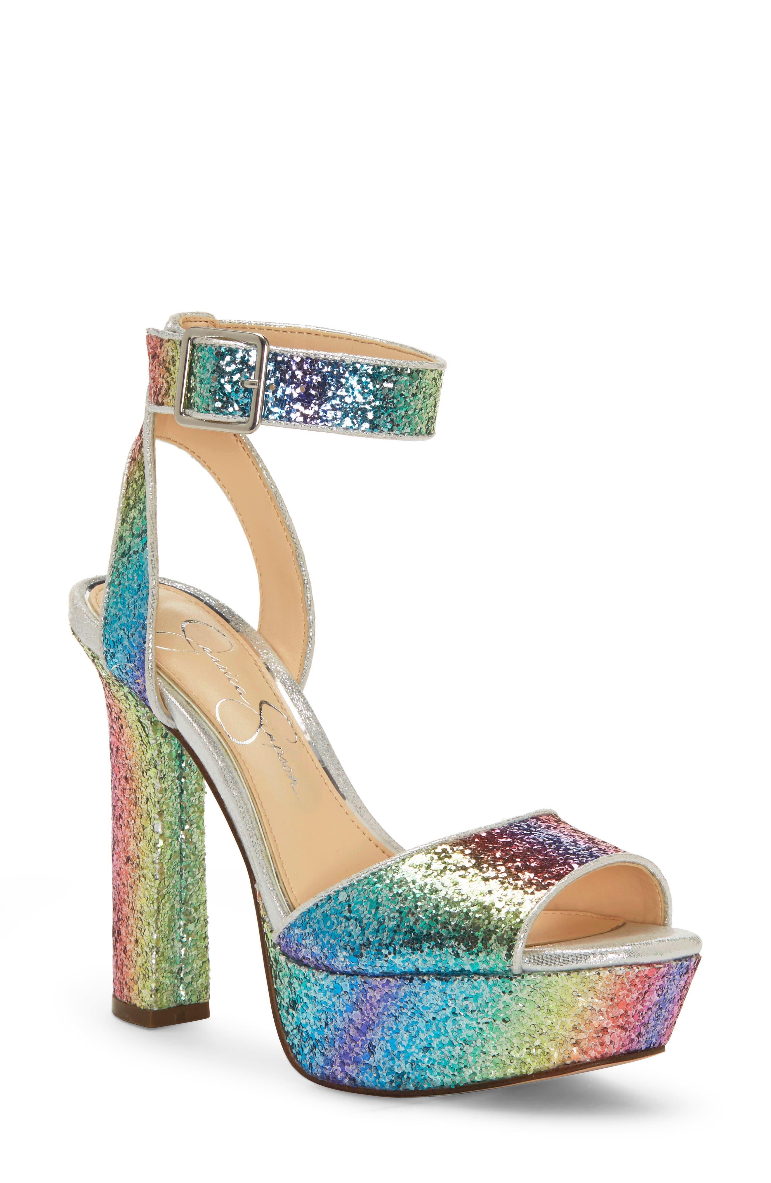 60s Shoes, Boots Womens Jessica Simpson Maicie Platform Sandal Size 9 M - Brown $88.95 AT vintagedancer.com