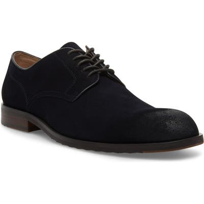 Steve Madden Briton Plain Toe Derby, Blue