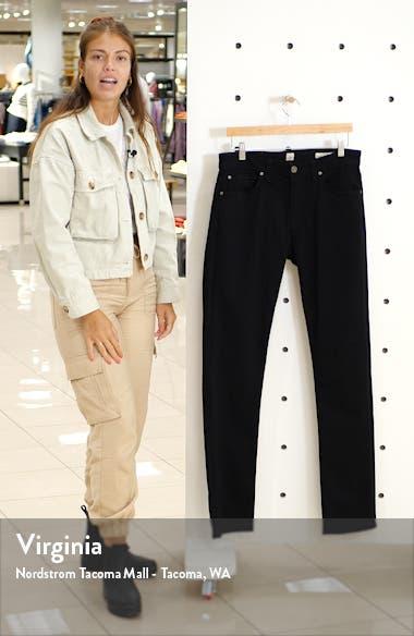 Rocker Slim Fit Five Pocket Twill Pants, sales video thumbnail