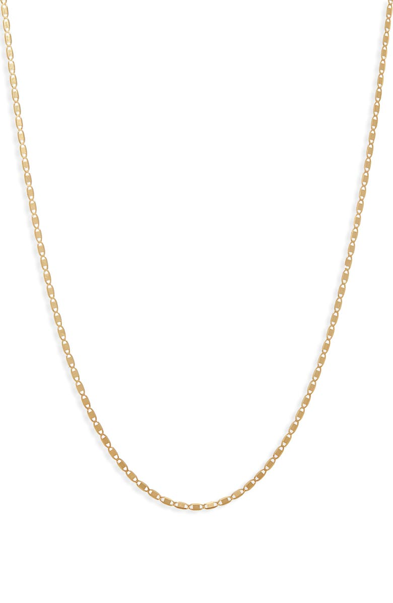 LANA JEWELRY Nude Chain Necklace, Main, color, YELLOW GOLD