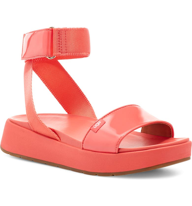 UGG<SUP>®</SUP> Lennox Platform Sandal, Main, color, 650