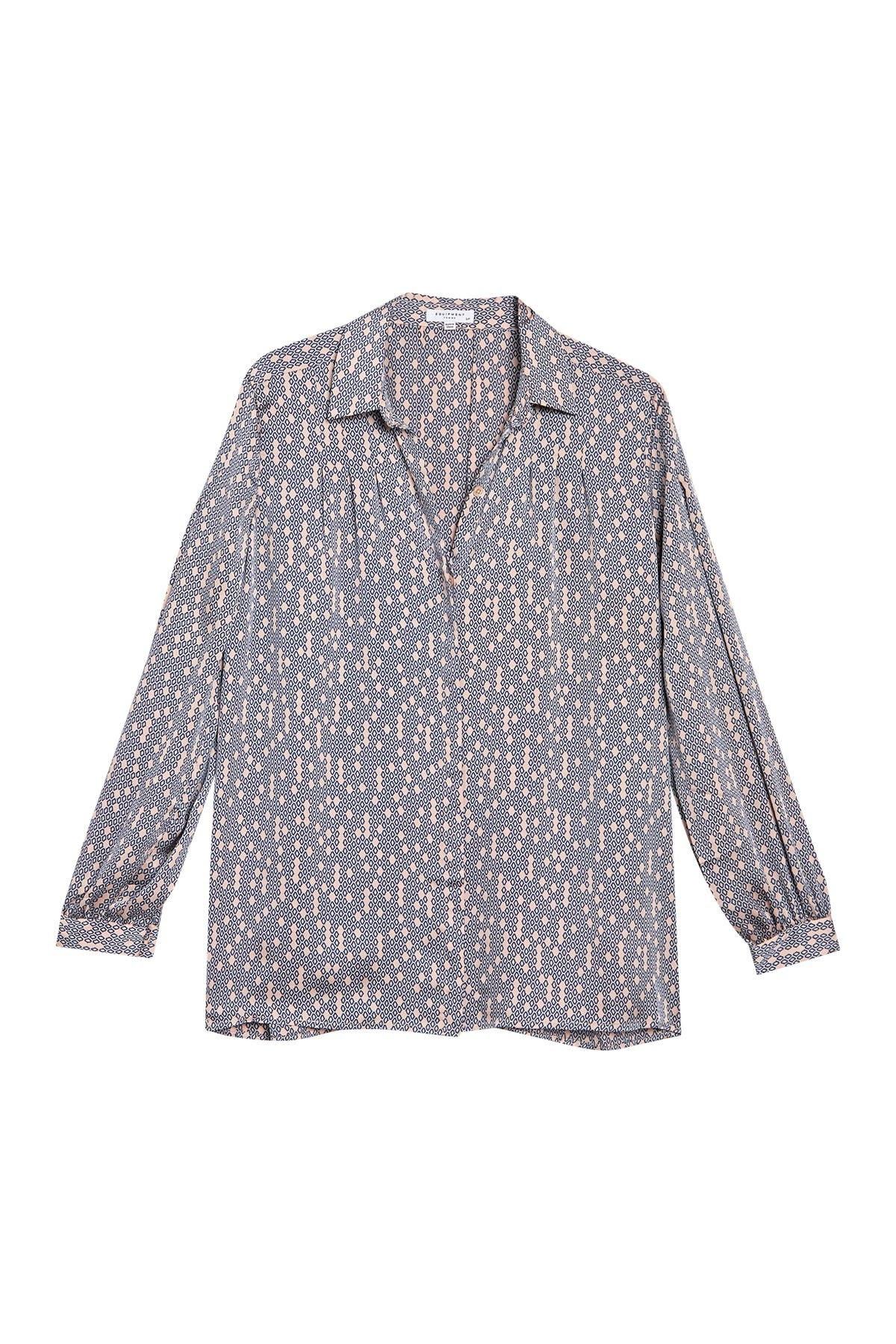 Image of Equipment Bouvier Woven Printed Shirt