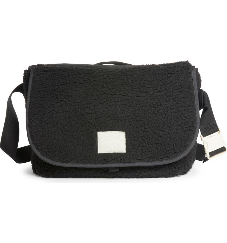 HERSCHEL SUPPLY CO. Grade Messenger Bag, Main, color, BLACK