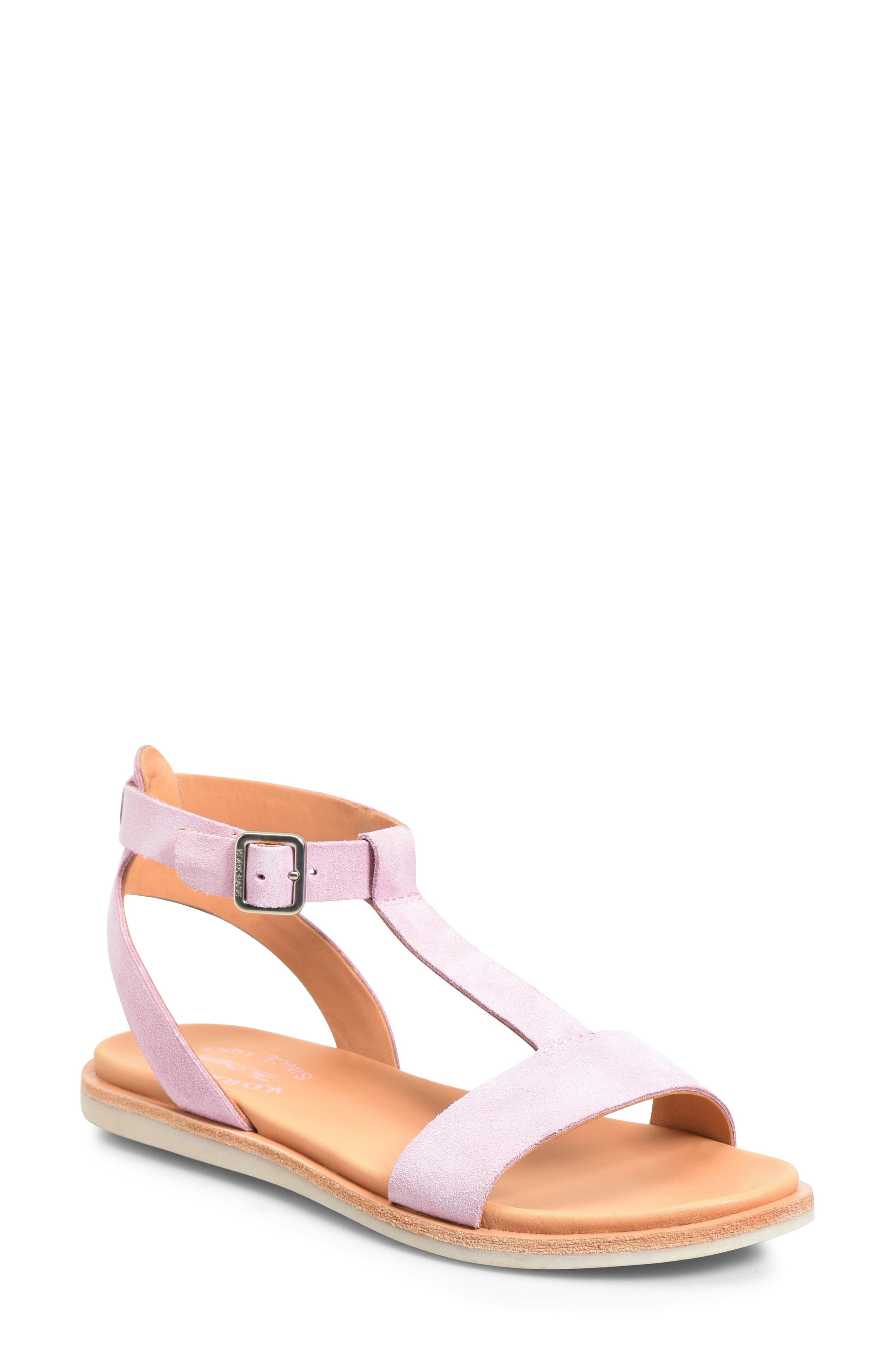 Kork-Ease Zukey T-Strap Sandal, Pink