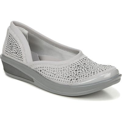 Bzees Moonlight Skimmer Flat, Grey