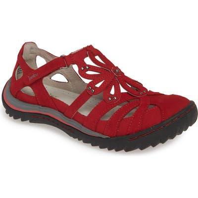 Jambu Abby Flat, Red