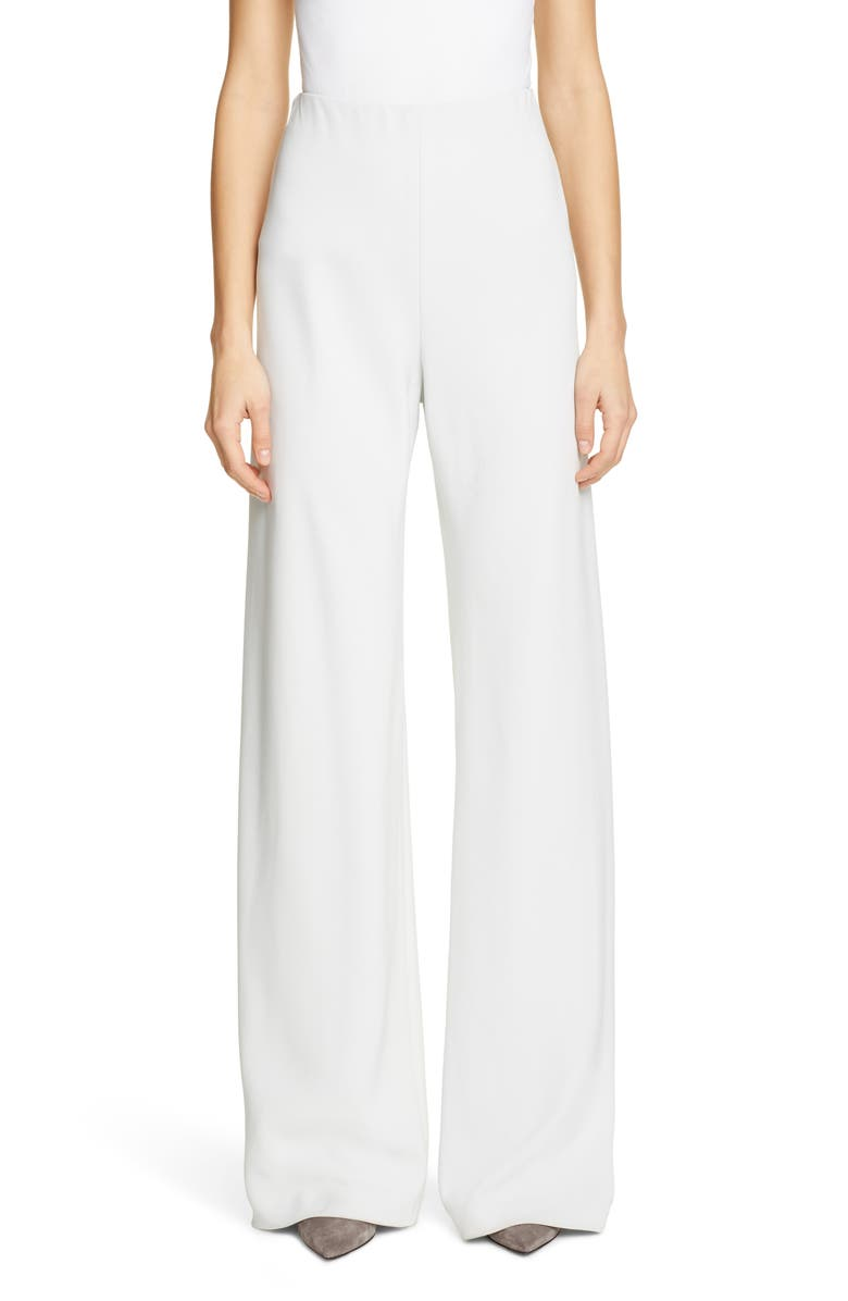 ROSETTA GETTY Stretch Jersey Pants, Main, color, DOVE