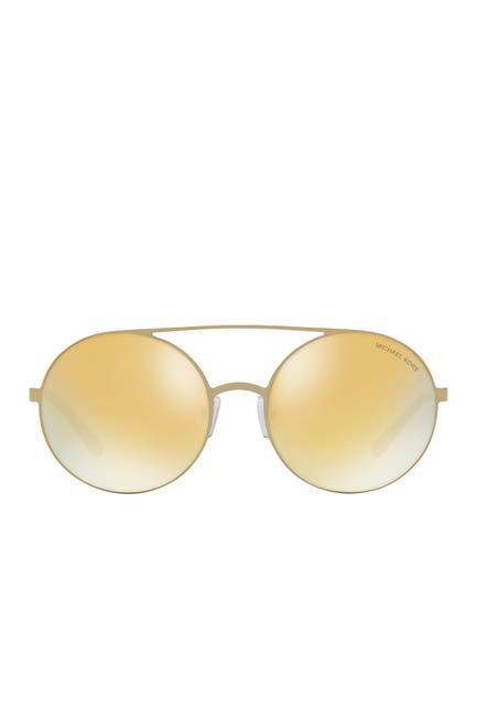 Image of Michael Kors Cabo 55mm Round Sunglasses
