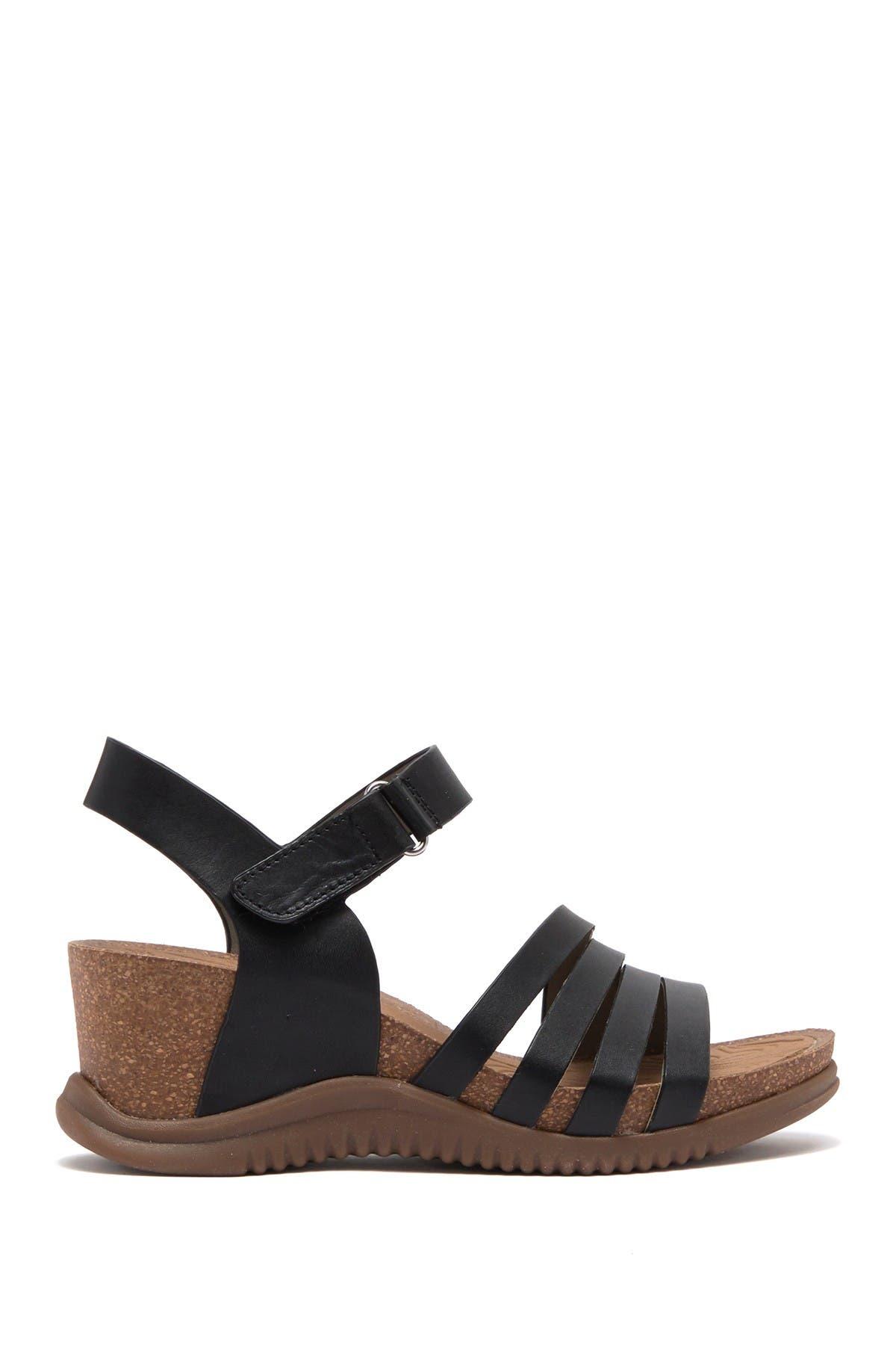 Image of bionica Palladium Leather Wedge Sandal