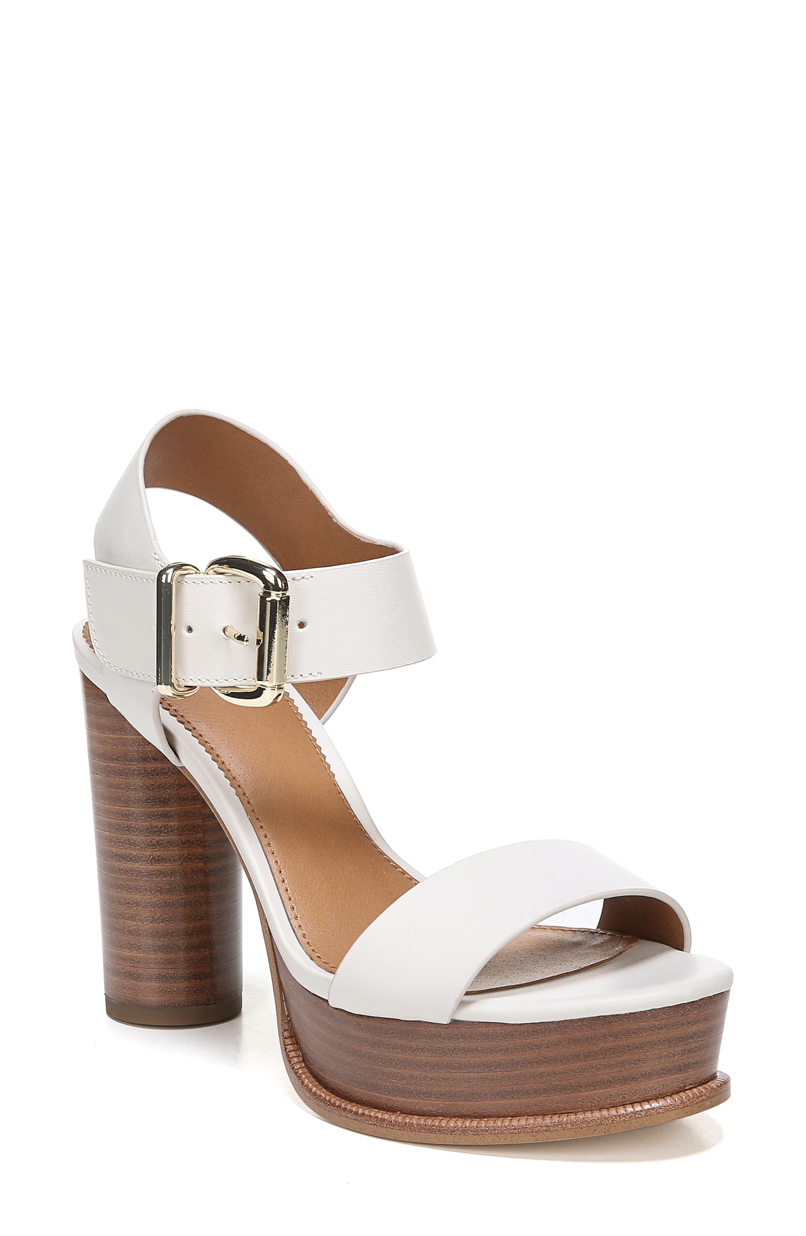 Sarto By Franco Sarto Katerina Platform Sandal- Beige