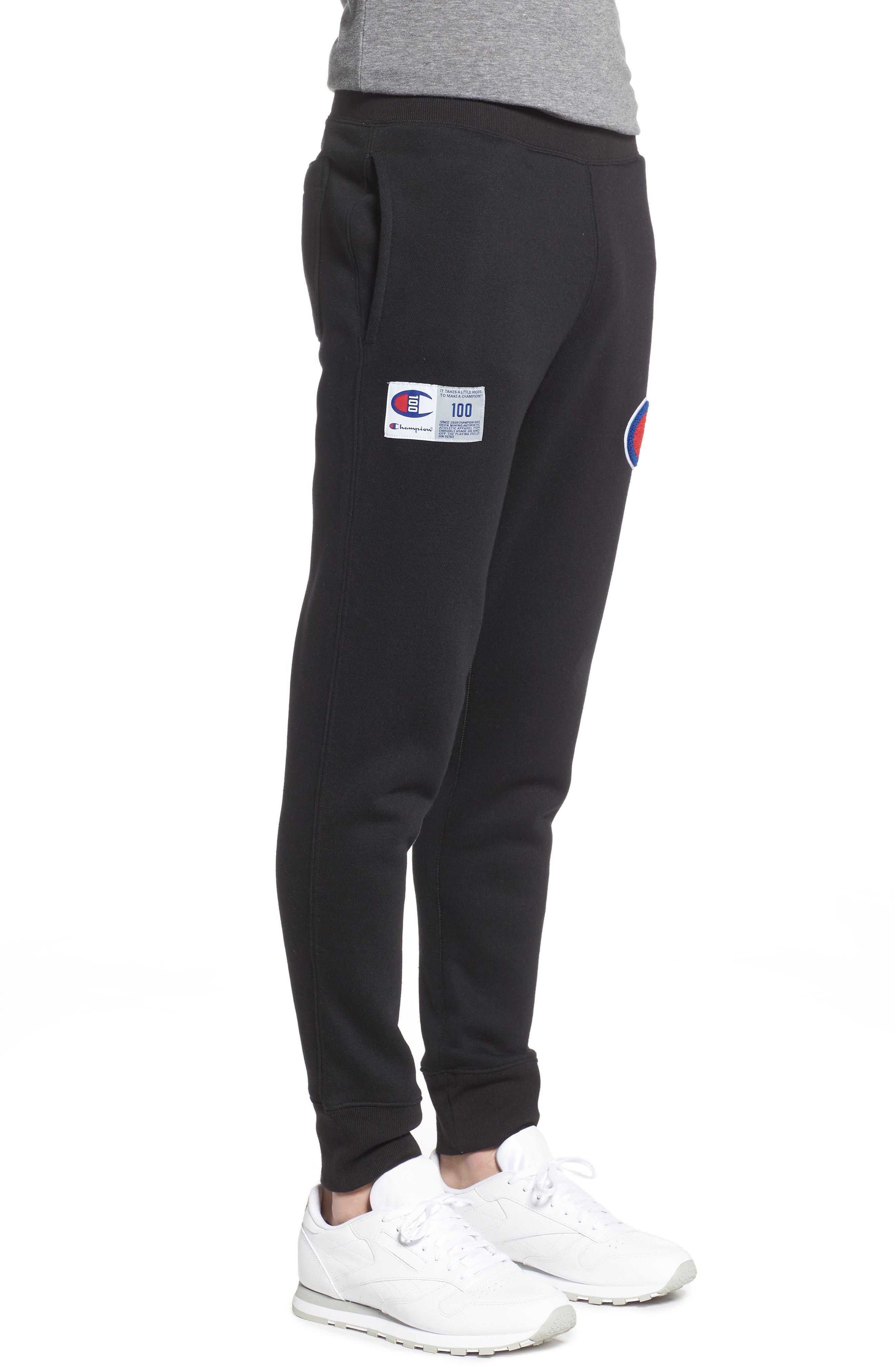 ,                             Century Collection Jogger Pants,                             Alternate thumbnail 4, color,                             BLACK