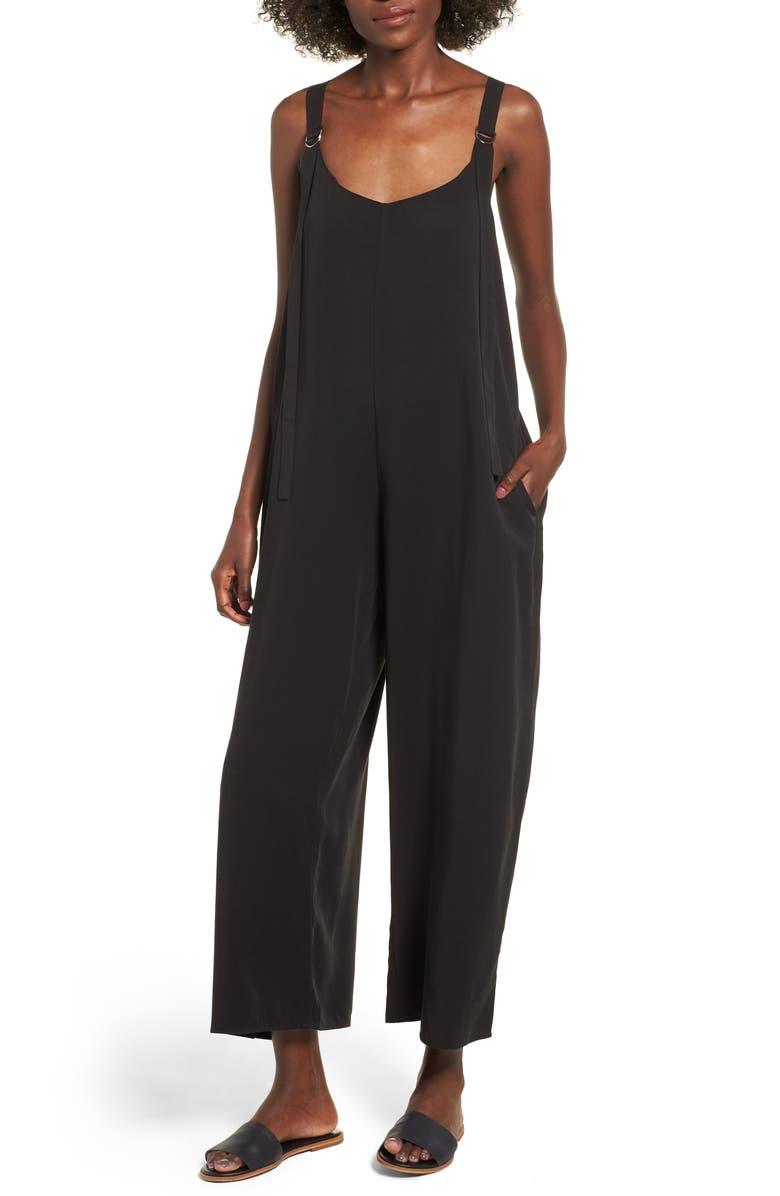 LIRA CLOTHING Wasson Jumpsuit, Main, color, BLACK