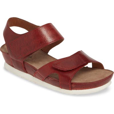 Bos. & Co. Pilar Sandal, Red