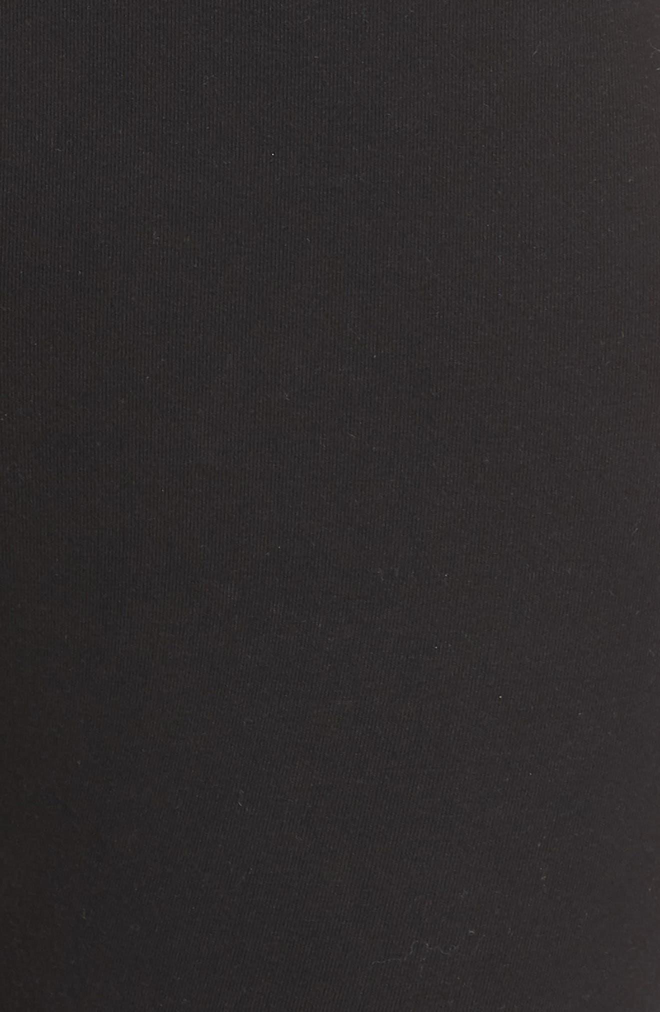,                             Go To High Waist Capri Leggings,                             Alternate thumbnail 5, color,                             BLACK