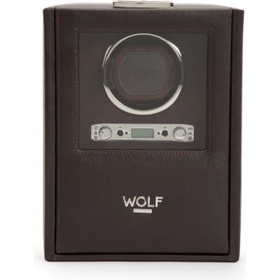 Wolf Blake Single Watch Winder - Brown