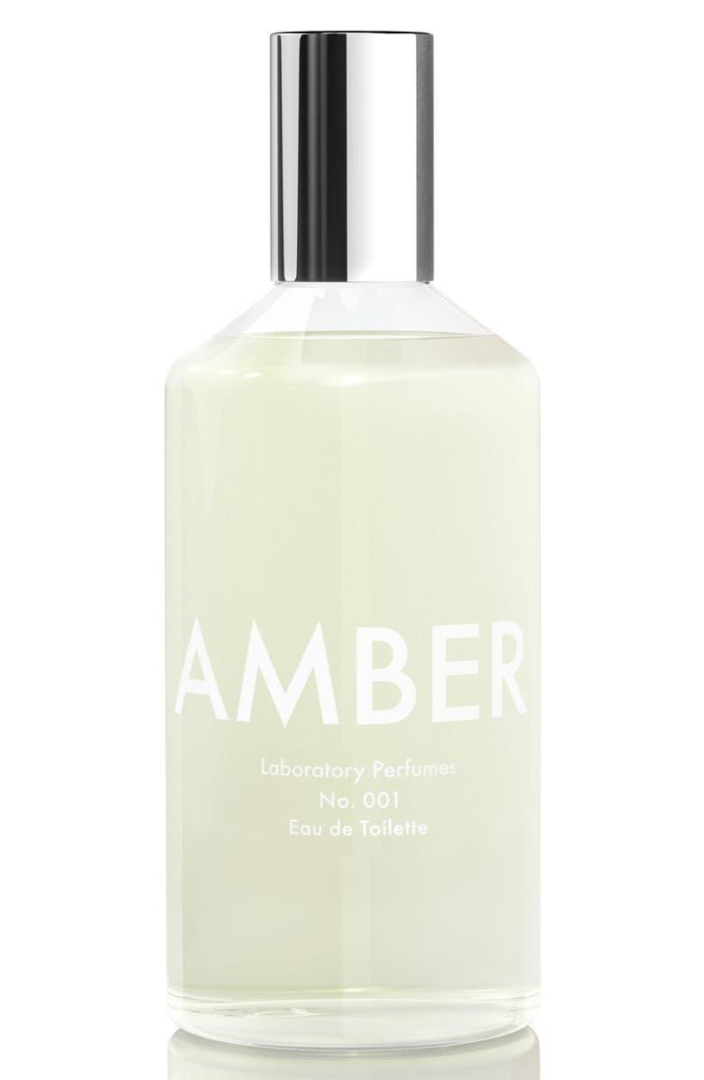 LABORATORY PERFUMES Amber Eau de Toilette, Main, color, 000