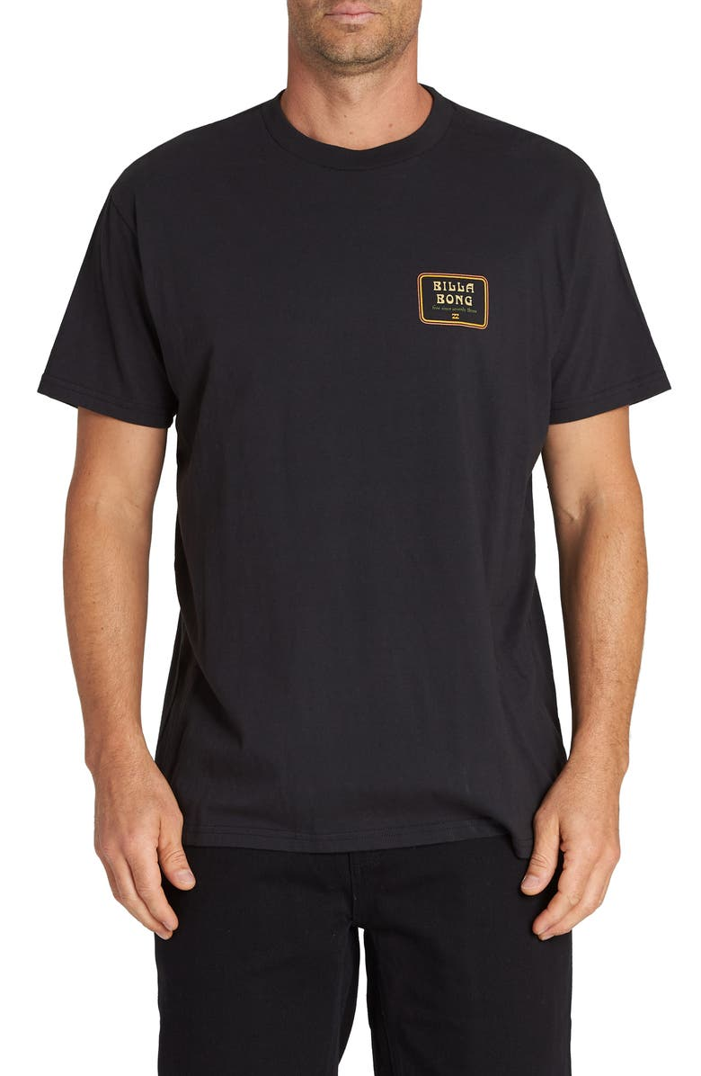 BILLABONG Lagoon T-Shirt, Main, color, BLACK