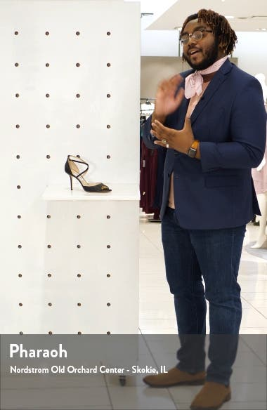 Emsy Cross Strap Sandal, sales video thumbnail