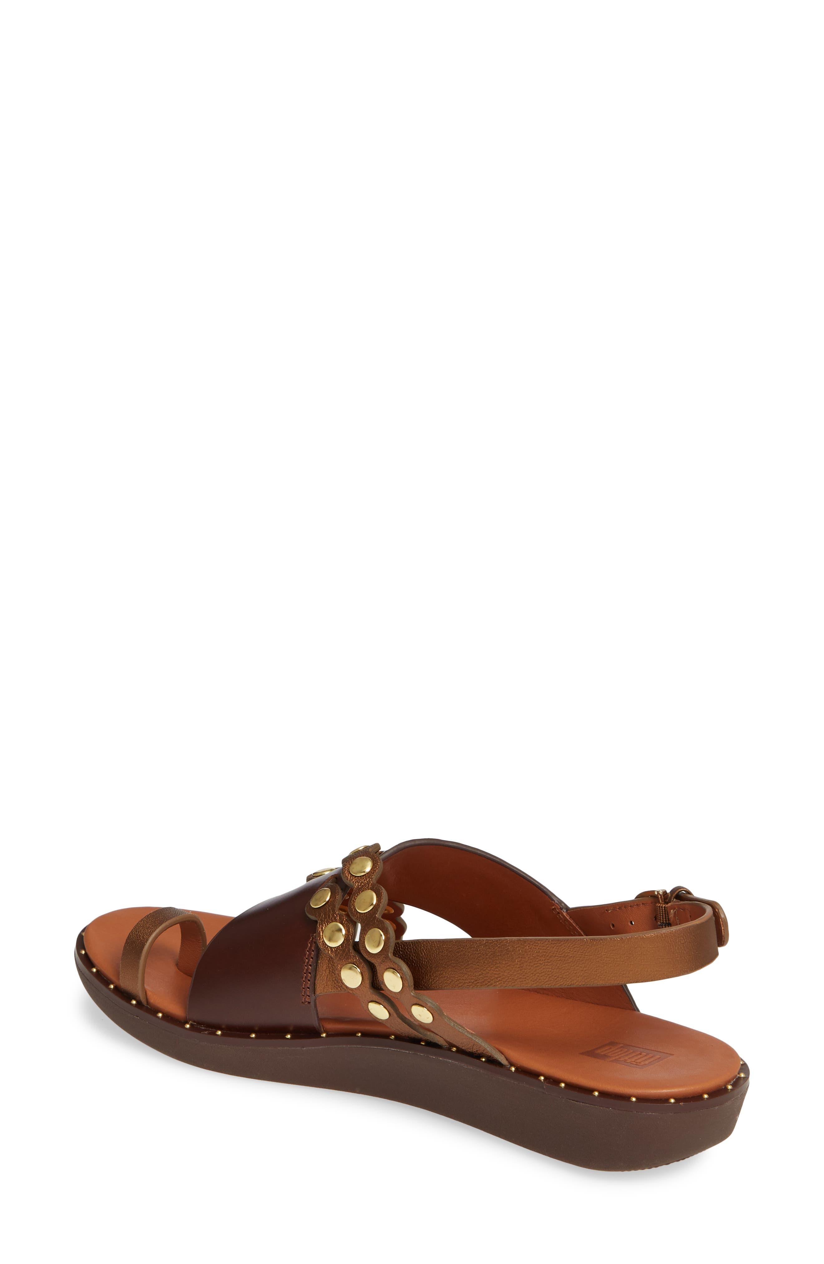 ,                             Scallop Embellished Sandal,                             Alternate thumbnail 8, color,                             202