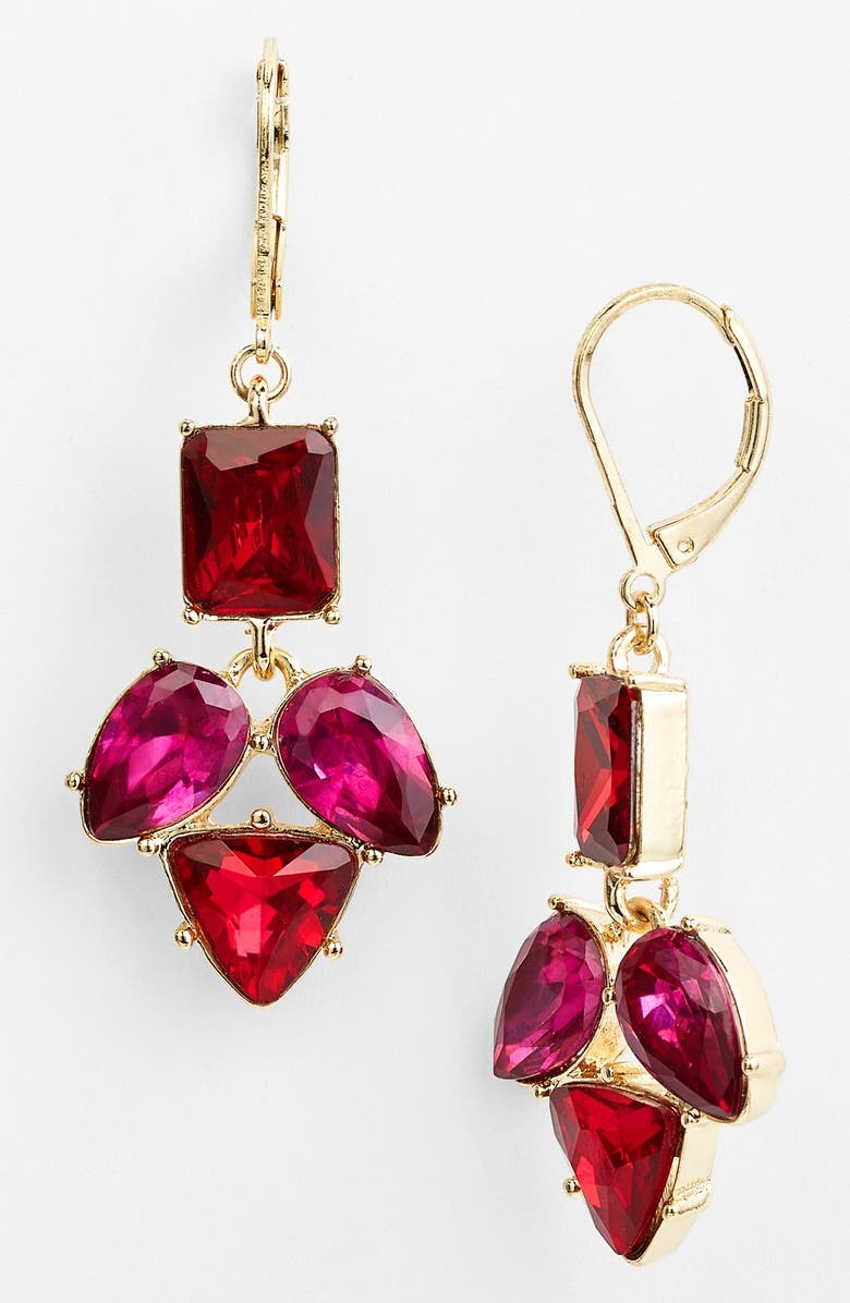 ANNE KLEIN Drop Earrings, Main, color, 600